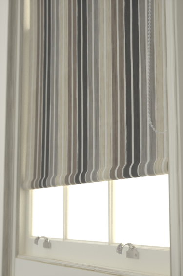how to clean fabric roller blinds at home