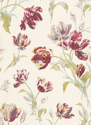 Gosford Meadow Cranberry By Laura Ashley Brewers Home