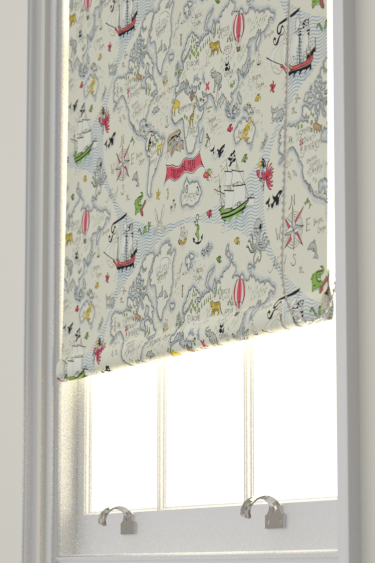 Treasure map vanilla roller blinds by sanderson brewers home choose a heading gumiabroncs Choice Image