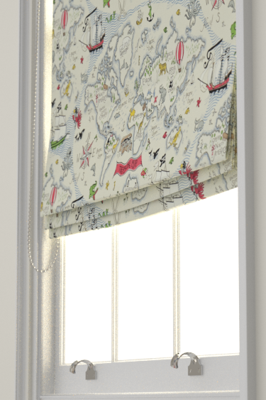 Treasure map vanilla roman blinds by sanderson brewers home treasure map gumiabroncs Gallery