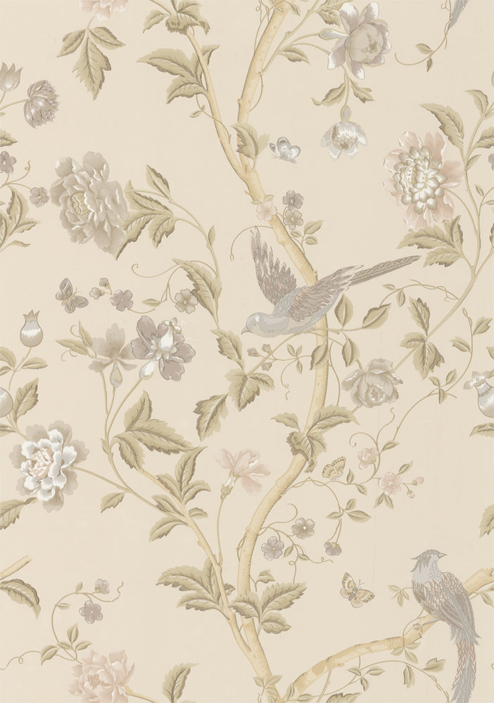 Summer Palace Taupe Ivory By Laura Ashley Wallpaper