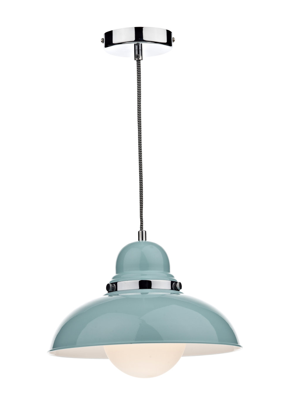 Dynamo Single Ceiling Light Pendant Blue By Brewers Home Brewers Home - Kitchen pendant lighting blue