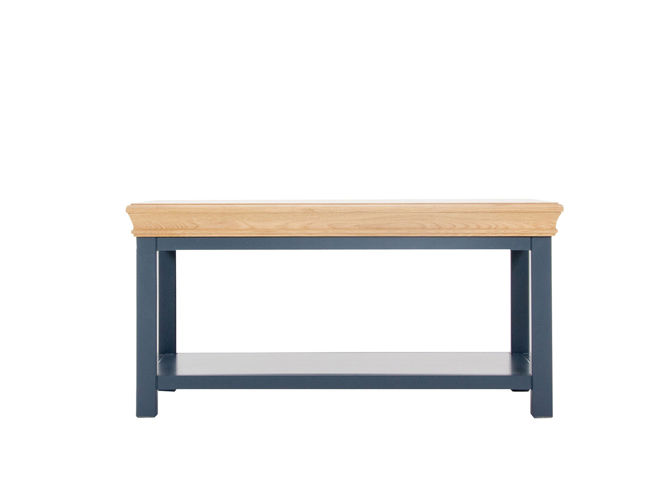 Clement coffee table oak charcoal by brewers home for Charcoal coffee table