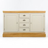 Clement Sideboard with Oak Plinth