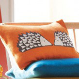 Spike Knitted Cushion Pumpkin