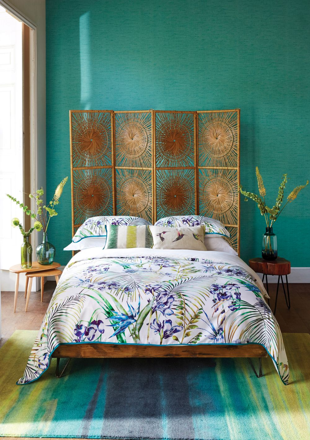 Paradise Double Duvet Lagoon By Harlequin Brewers Home