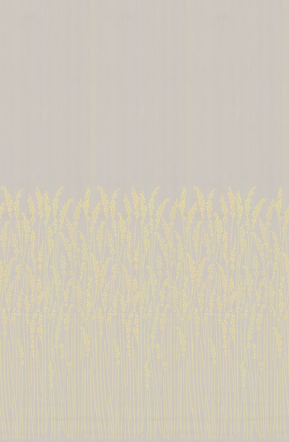 Feather Grass Pale Yellow By Farrow Ball Wallpaper Brewers Home