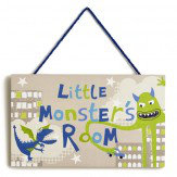 Monster Madness Door Sign