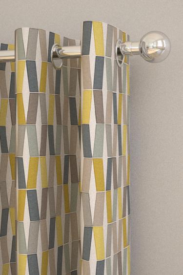 Flip Lemon Slice Eyelet Curtains by Natasha Marshall : Brewers Home