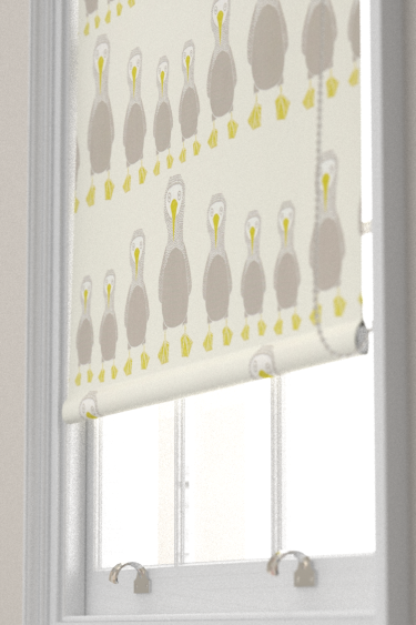 Booby Bird Pistachio Roman Blinds By Scion Brewers Home