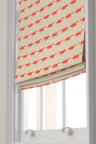 Little Fox Ginger Roman Blinds By Scion Brewers Home
