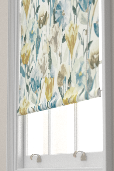 Verdaccio Mustard Maize Amp Seal Roller Blinds By Harlequin