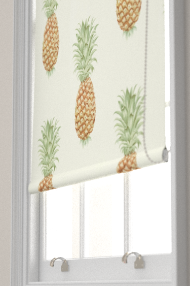 Pineapple Royale Artichoke Amber Roller Blinds By