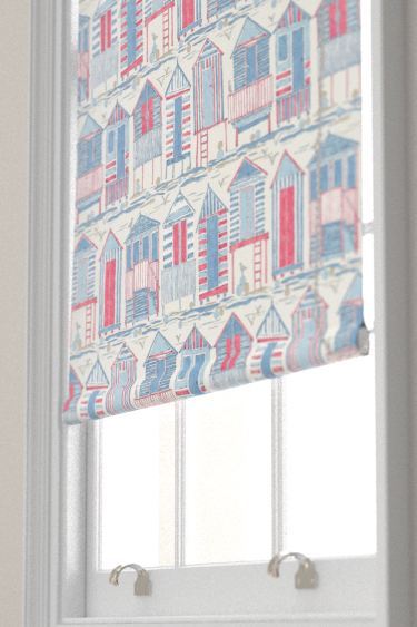 Beach Huts Nautical Roller Blinds By Sanderson Brewers Home