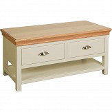 Clement 2 Drawer Coffee Table