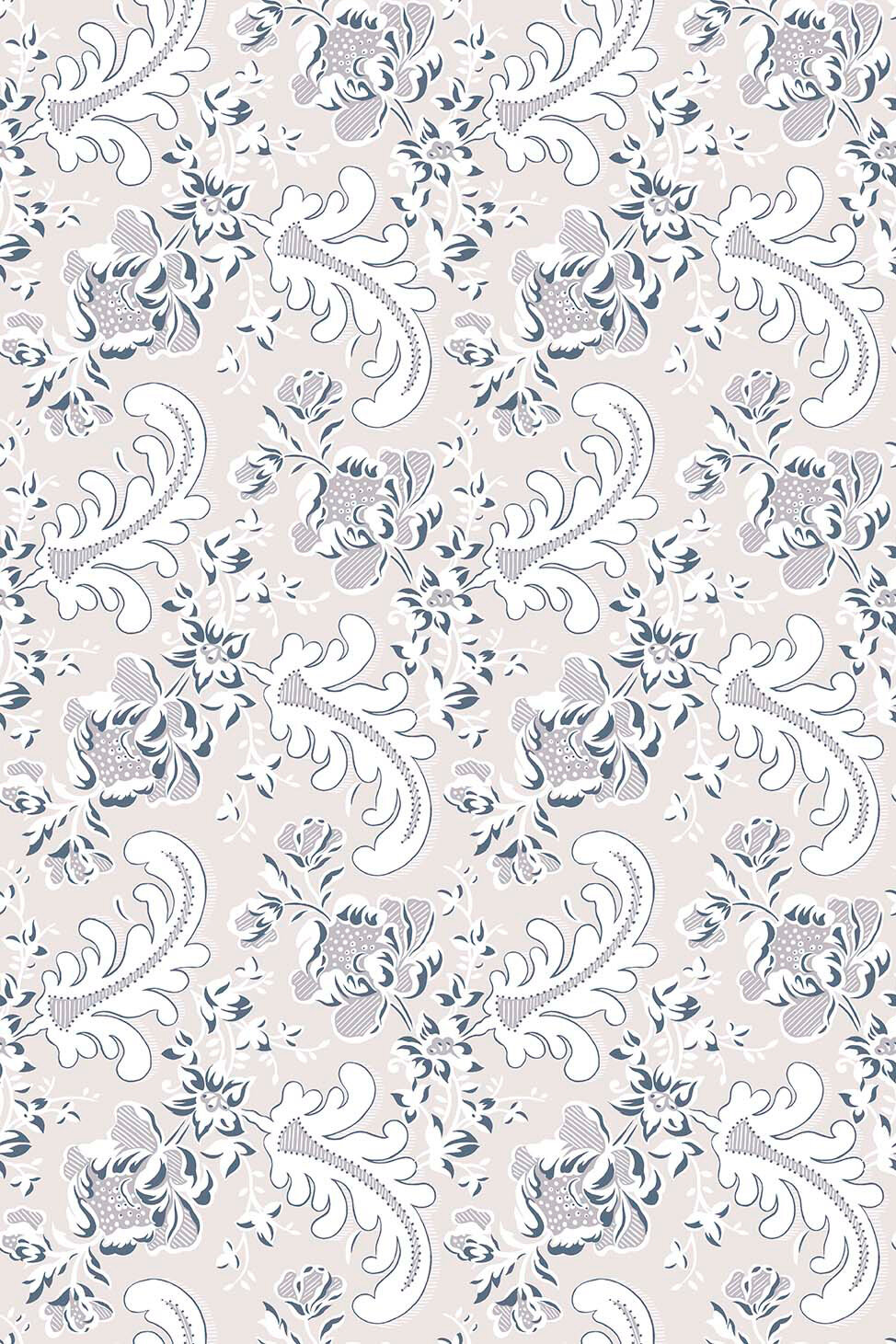 Sophie S Choice Muted Pink By Hamilton Weston Wallpapers